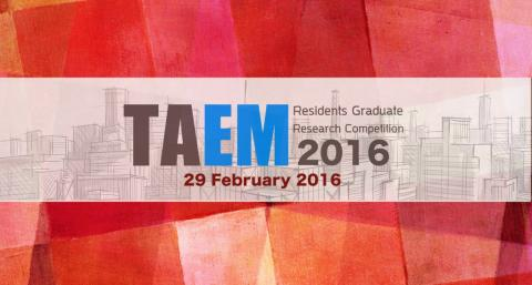 TAEM Research Competition 2016